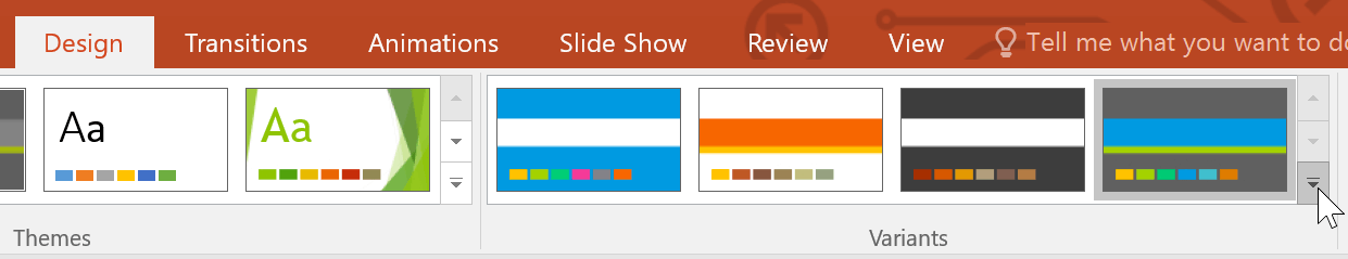 Themes trong PowerPoint