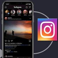 Hướng dẫn kích hoạt chế độ nền tối trên Instagram