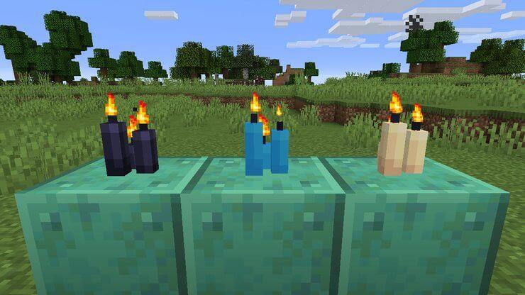 Công thức chế tạo nến trong Minecraft