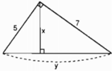 bai 3 trang 69 Giải Toán 9 Bài 1: Một số hệ thức về cạnh và đường cao trong tam giác vuông