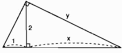 bai 4 trang 69 Giải Toán 9 Bài 1: Một số hệ thức về cạnh và đường cao trong tam giác vuông