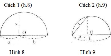 bai 7 trang 69 Giải Toán 9 Bài 1: Một số hệ thức về cạnh và đường cao trong tam giác vuông