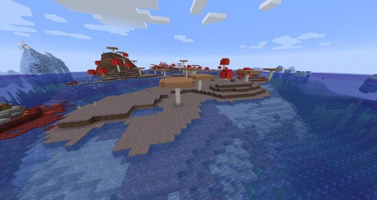 biome Minecraft mushroom 3 TOP các biome trong Minecraft dành cho người mới bắt đầu chơi