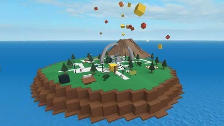 Chọn Part để bắt đầu thiết kế game trên Roblox Studio