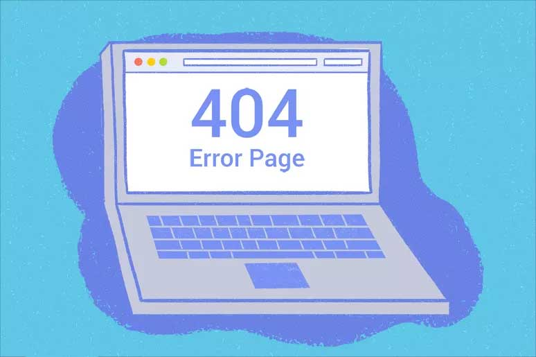 404 - file or directory not found.
