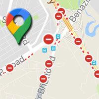 Hướng dẫn xem khu vực bị phong tỏa trên Google Maps