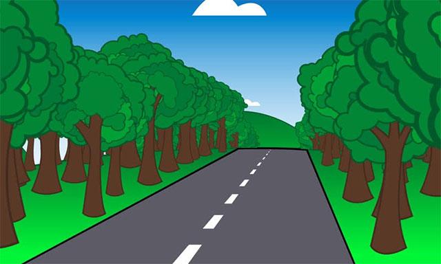 Tả con đường từ nhà đến trường