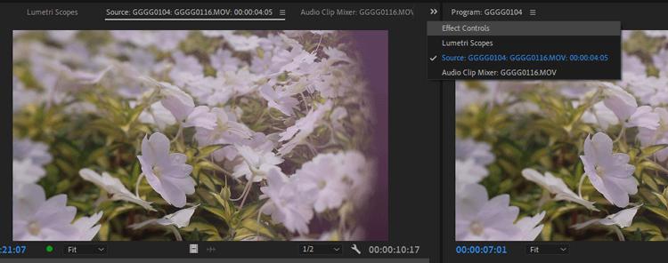Hiệu ứng cố định trong Adobe Premiere Pro