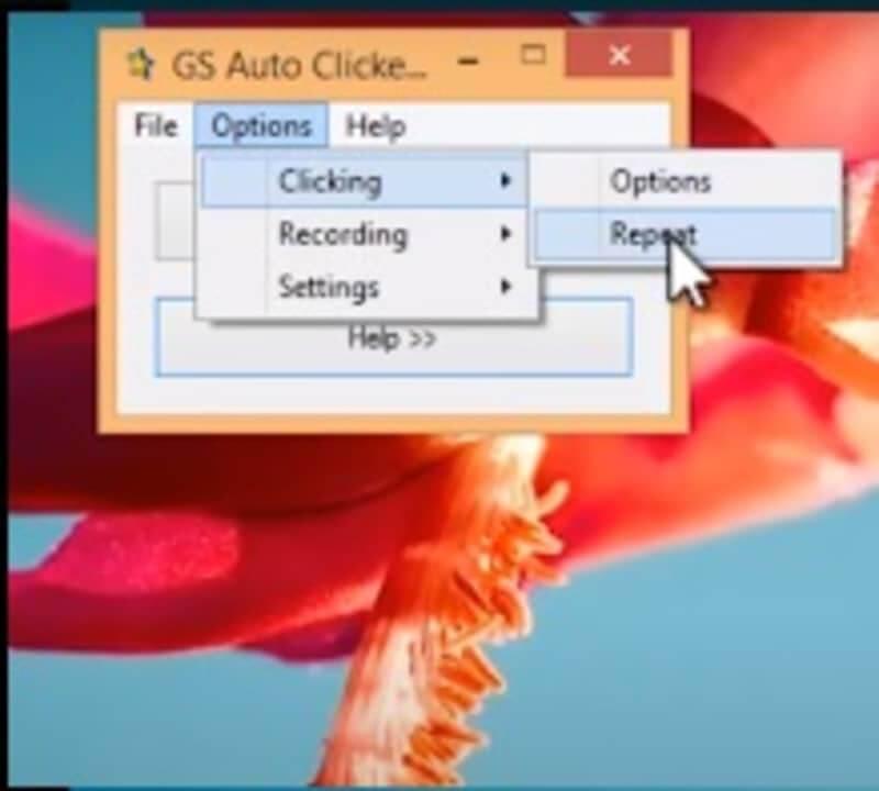 Giao diện GS Auto Clicker