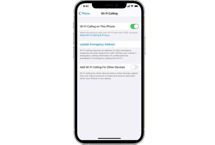 Wi-Fi Calling trên iPhone dùng như thế nào?