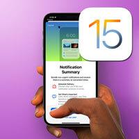 Hướng dẫn bật tóm tắt thông báo trên iOS 15