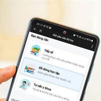 Hướng dẫn yêu cầu nhận hỗ trợ đồ dùng học tập bằng Zalo Connect