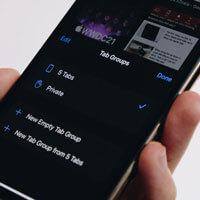 Hướng dẫn tạo nhóm Tab Safari trên iOS 15